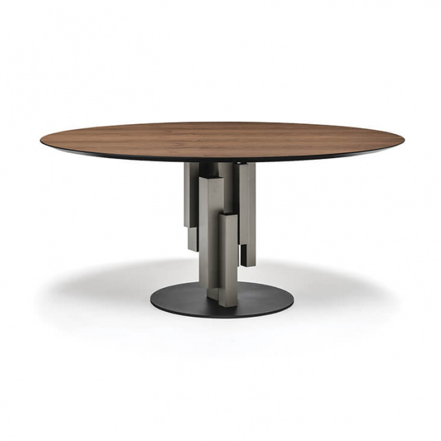 Итальянский стол Cattelan Italia Skyline Wood Round